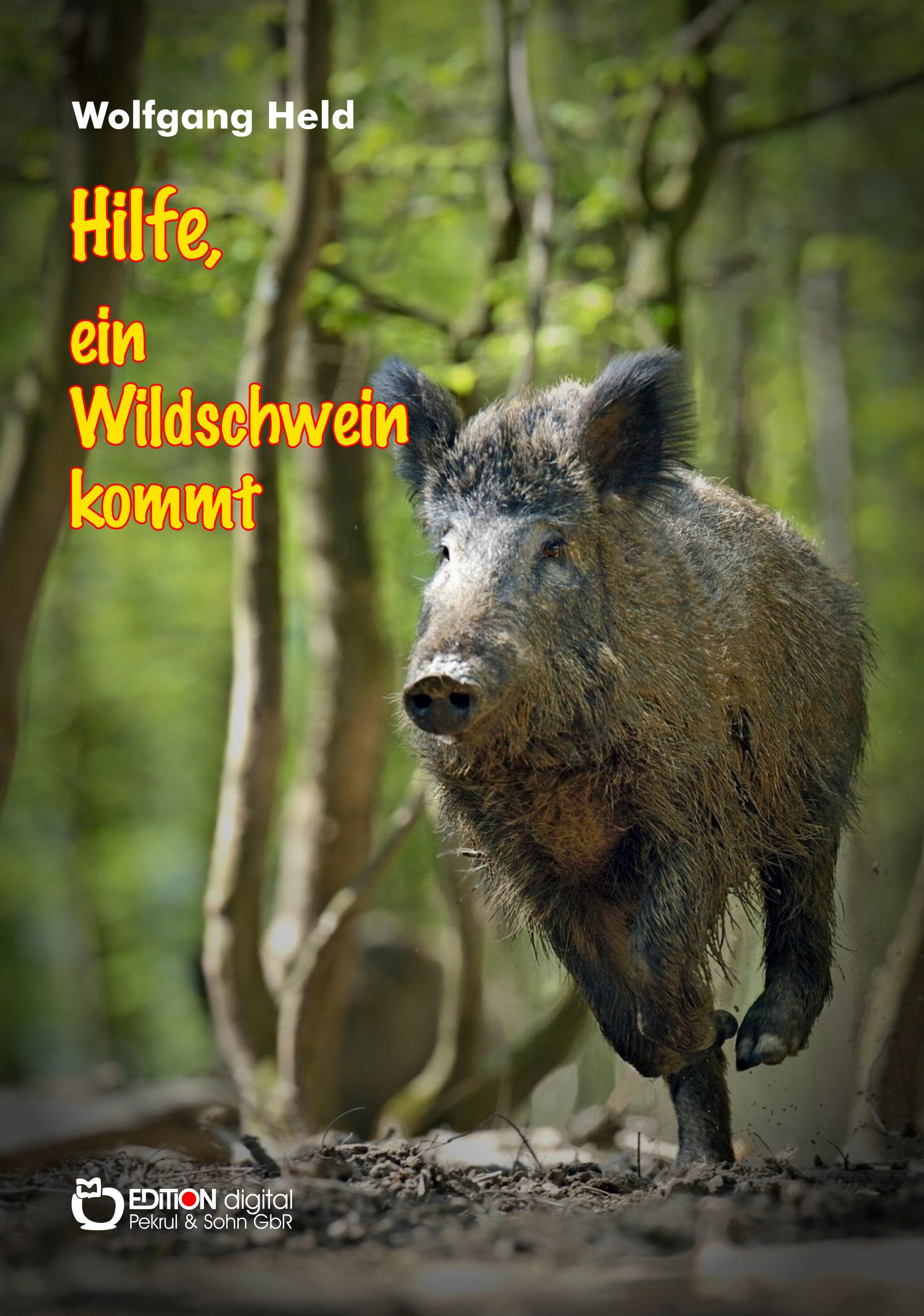 Hilfe, ein Wildschwein kommt. Kinderbuch von Wolfgang Held
