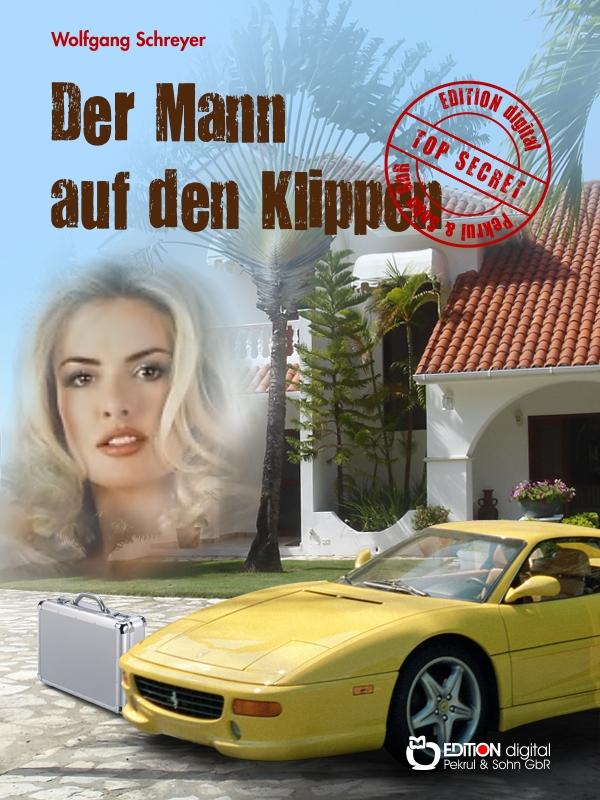 Der Mann auf den Klippen. Roman von Wolfgang Schreyer